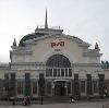 Железнодорожные вокзалы в Пристени