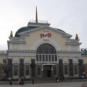 Железнодорожные вокзалы Пристени